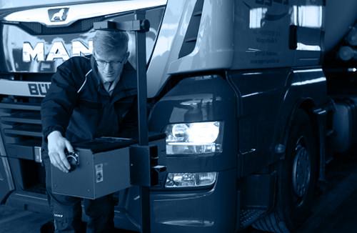 Hauptuntersuchung HU Checkliste für LKW Zugmaschinen - GTÜ, TÜV, DEKRA